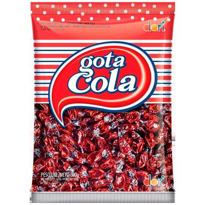Bala sabor cola 600g Dori pacote PCT