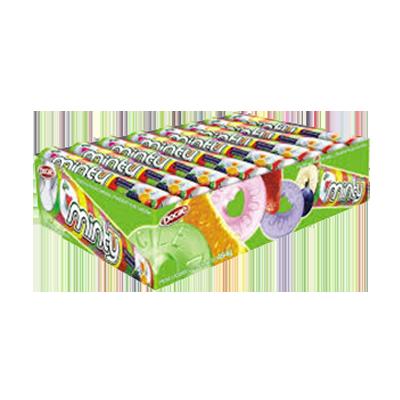 Bala sabor frutas 16 unidades Minty caixa CX