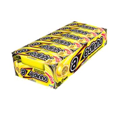 Bala sabor maracuja 12 unidades Azedinho/Freegells caixa CX