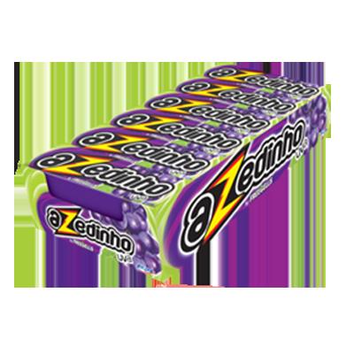 Bala sabor uva 12 unidades Azedinho/Freegells caixa CX