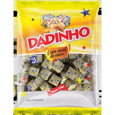 Bala tradicional 600g Dadinho pacote PCT