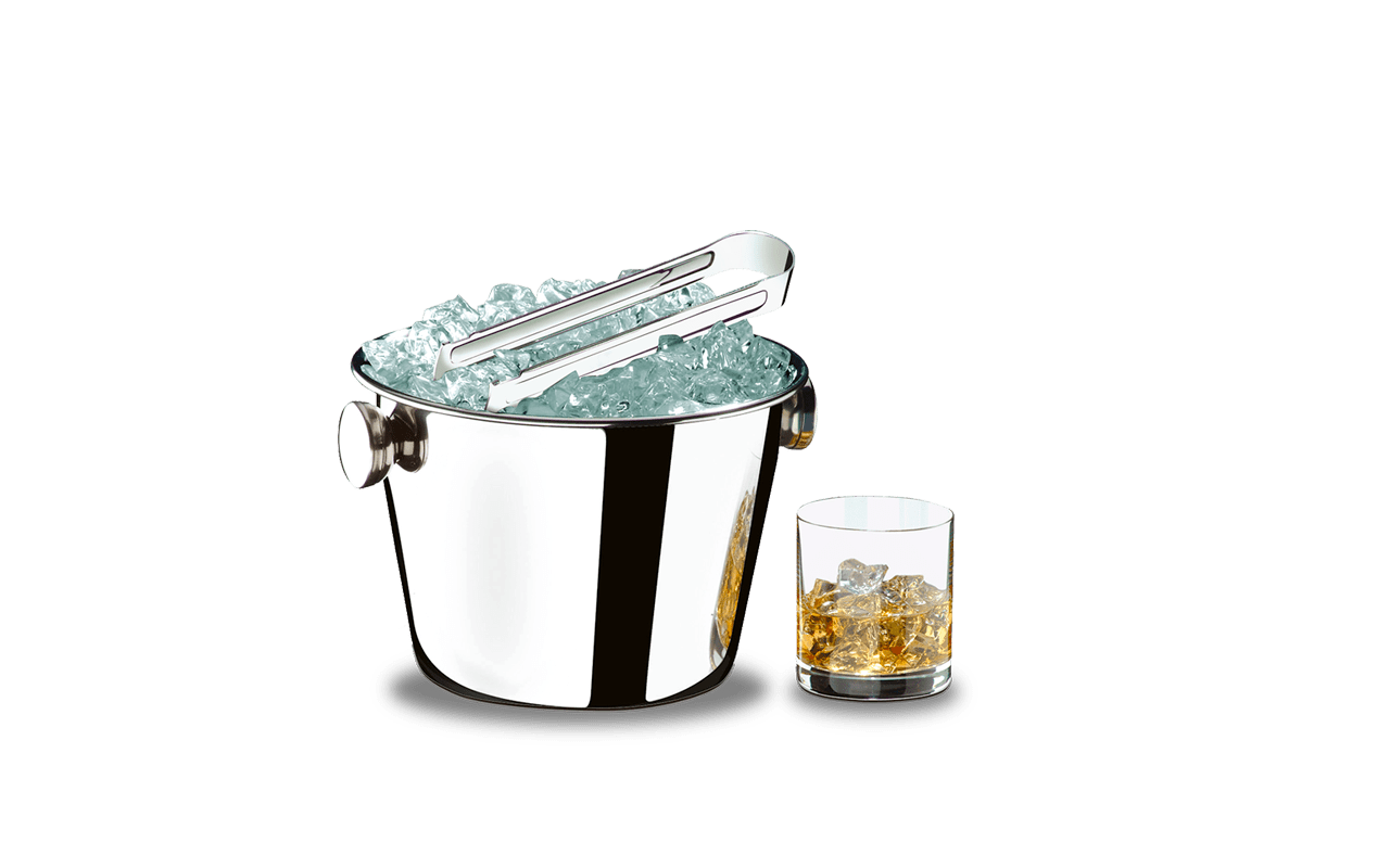 Balde para Gelo Aço Inox Lyon 1,4 Litros Brinox  UN