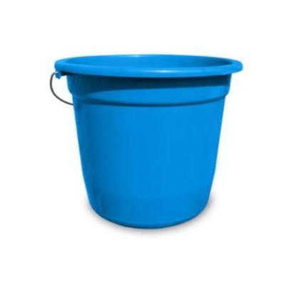 Balde Plástico Azul Capacidade 15Litros unidade Shangrila  UN