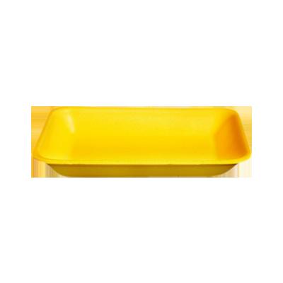 Bandeja de isopor funda amarela 235x180x24 400 unidades Copobras caixa CX