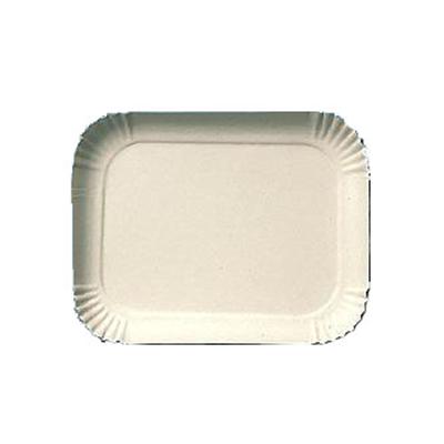 Bandeja de papelão n° 23 (19cm x 24cm) 100 unidades Master Clean pacote PCT