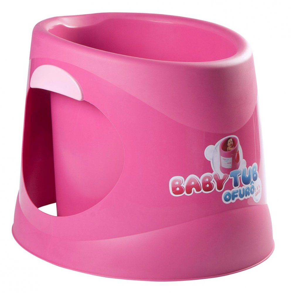 Banheira Infantil Ofurô BBT052 Rosa unidade Baby Tub  UN