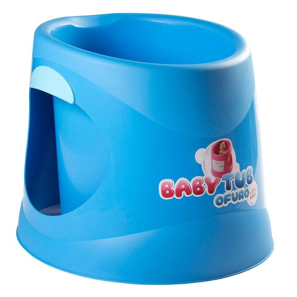 Banheira Infantil Ofurô BBT054 Azul unidade Baby Tub  UN