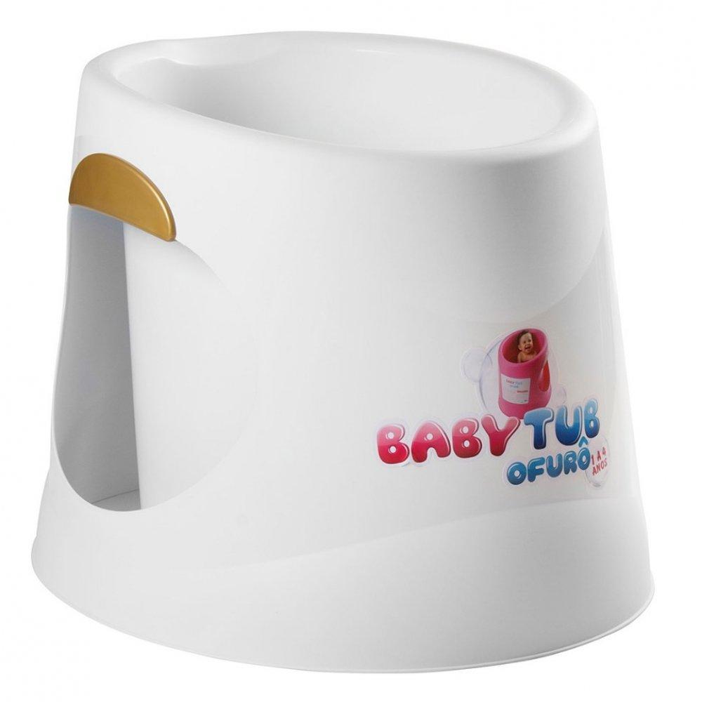 Banheira Infantil Ofurô BBT055 Branca unidade Baby Tub  UN