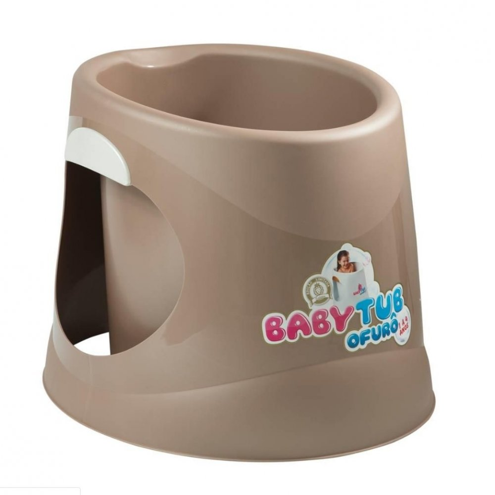 Banheira Infantil Ofurô BBT056 Marrom unidade Baby Tub  UN