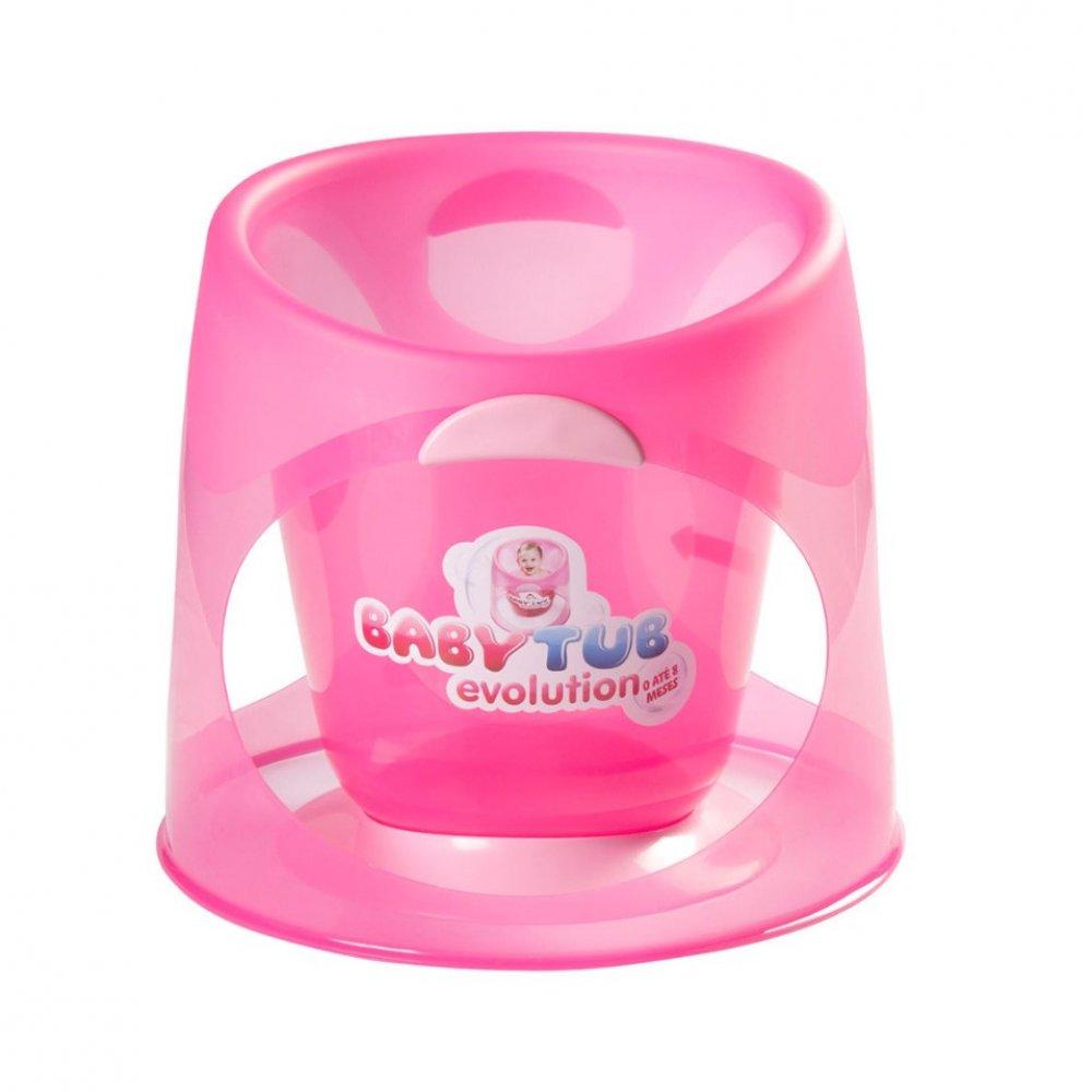 Banheira Infantil Ofurô Evolution BBT153 Rosa unidade Baby Tub  UN