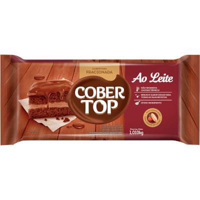Barra de chocolate ao leite 1,01kg Bel/Cober Top  UN