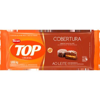 Barra de chocolate ao leite 1,050kg Harald/Top  UN
