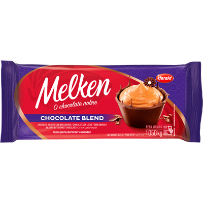 Barra de Chocolate Blend 1kg Harald/Melken  UN