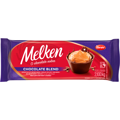 Barra de chocolate blend 2,1kg Harald/Melken  UN