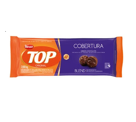 Barra de Chocolate Blend 2,1kg Harald/Top  UN