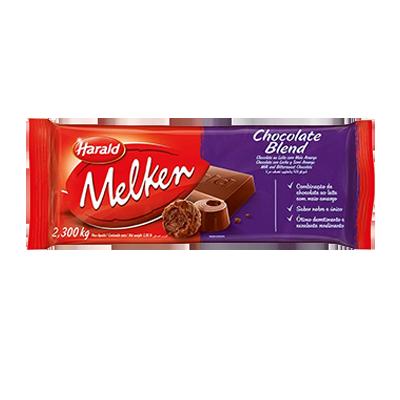 Barra de chocolate blend 2,3kg Harald/Melken  UN