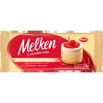 Barra de chocolate Branco 1,050kg Harald/Melken  UN