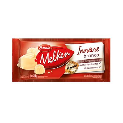 Barra de chocolate branco 1kg Inovare/Harald  UN