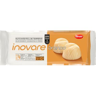 Barra de chocolate branco 2,1kg Inovare/Harald  UN