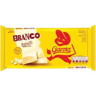 Barra de Chocolate Branco 90g Garoto  UN