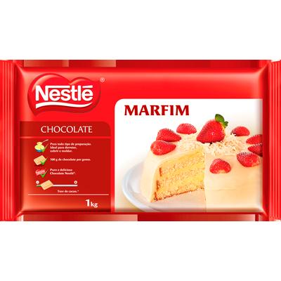 xxCobertuea de chocolate branco marfim 1kg Nestlé  UN