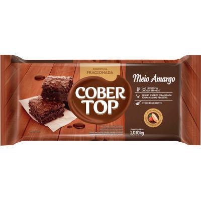 Barra de chocolate meio amargo 1,01kg Bel/Cober Top  UN