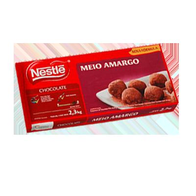 Cobertura de chocolate meio amargo 2,3kg Nestlé  UN