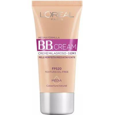 Base Média FPS 20 30ml L'Oréal/BB Cream  UN
