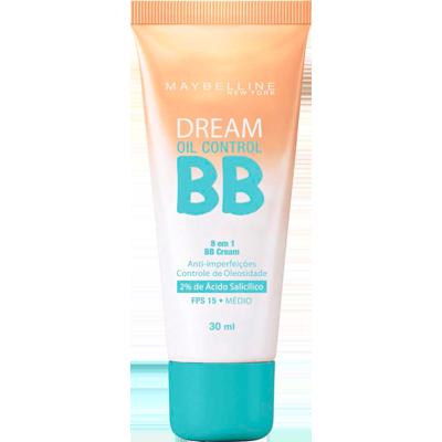 Base BB Cream proteção FPS 15 oil control médio 30ml Maybelline  UN