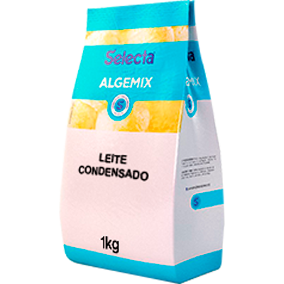 Saborizante para Sorvete sabor Leite Condensado 1kg Algemix pacote UN