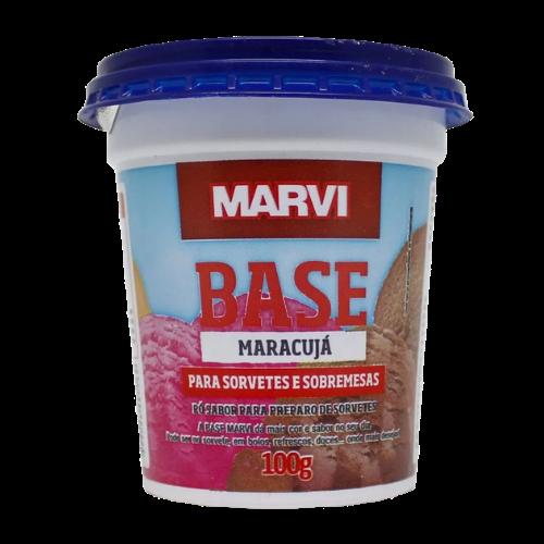 Saborizante para Sorvete sabor Maracujá 100g Marvi pote UN