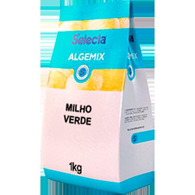 Saborizante para Sorvete sabor Milho Verde 1kg Algemix pacote UN