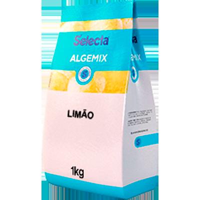 Base para sorvete sabor tropical limão 1kg Algemix pacote UN