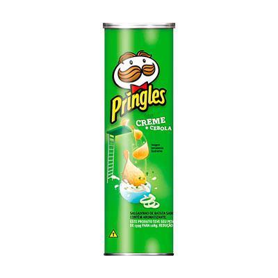 Batata Chips Creme e Cebola 120g Pringles lata UN