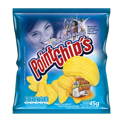 Batata Chips Original 40g Point Chips pacote PCT