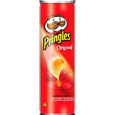 Batata Chips Original 121g Pringles lata UN