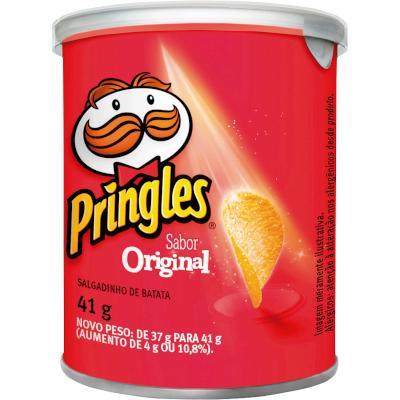 Batata Chips Original 41g Pringles lata UN