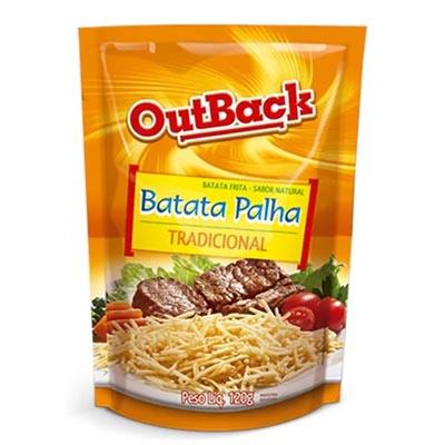 Batata Palha  120g OutBack pacote PCT