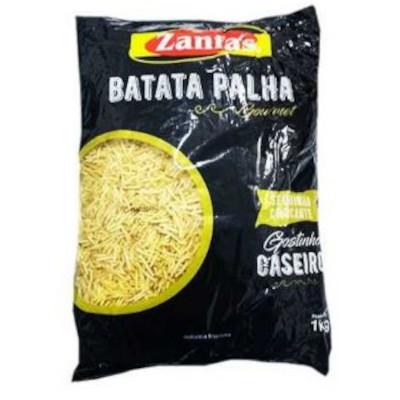 Batata Palha  1kg Zanfas pacote PCT