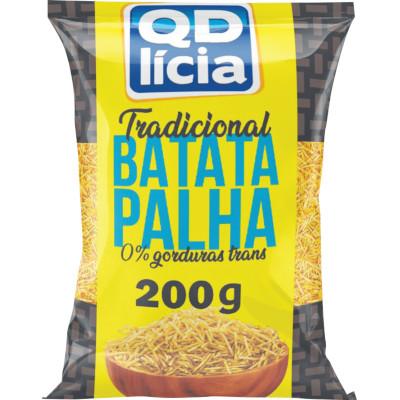 Batata Palha  200g QDelícia pacote PCT
