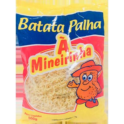 Batata Palha  500g A Mineirinha pacote PCT