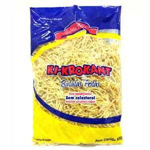 Batata Palha  500g Ki-Krokant pacote PCT