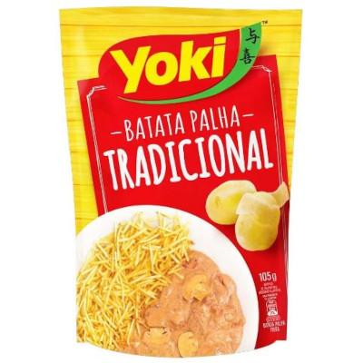 Batata Palha tradicional 105g Yoki pacote PCT
