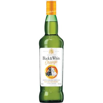 Bebida alcoólica mista Orange 700ml Black & White garrafa UN