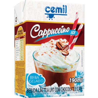 Bebida láctea sabor cappucino 190ml Cemil  UN