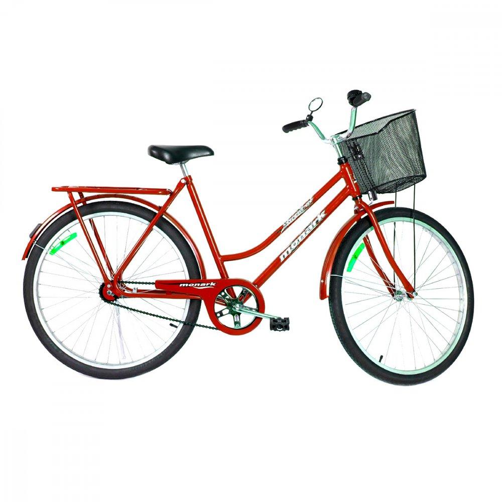 Bicicleta Aro 26 Tropical CP Lazer Vermelha unidade Monark  UN