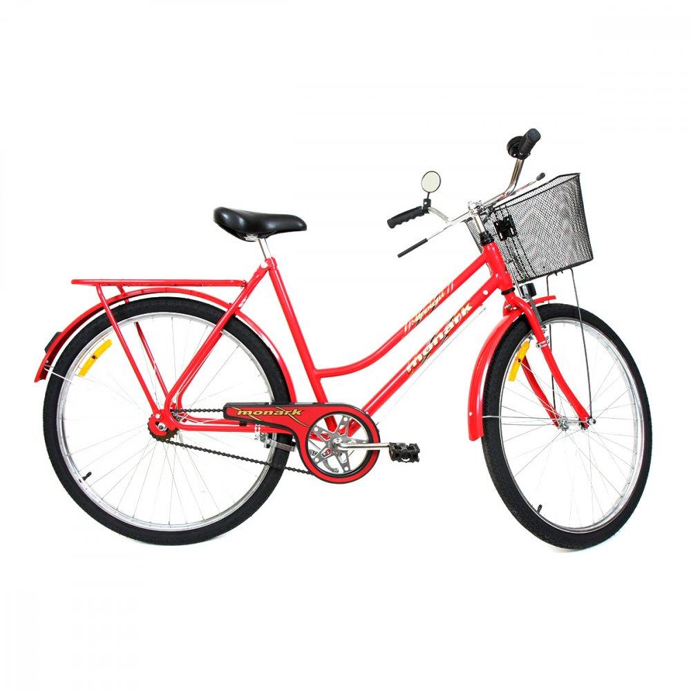 Bicicleta Aro 26 Tropical FI Lazer Vermelha unidade Monark  UN