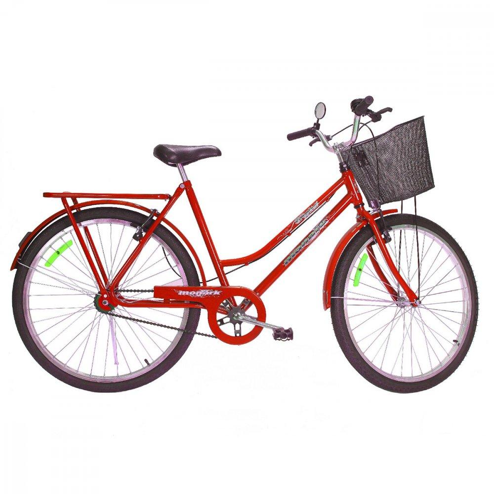 Bicicleta Aro 26 Tropical VB Lazer Vermelha unidade Monark  UN