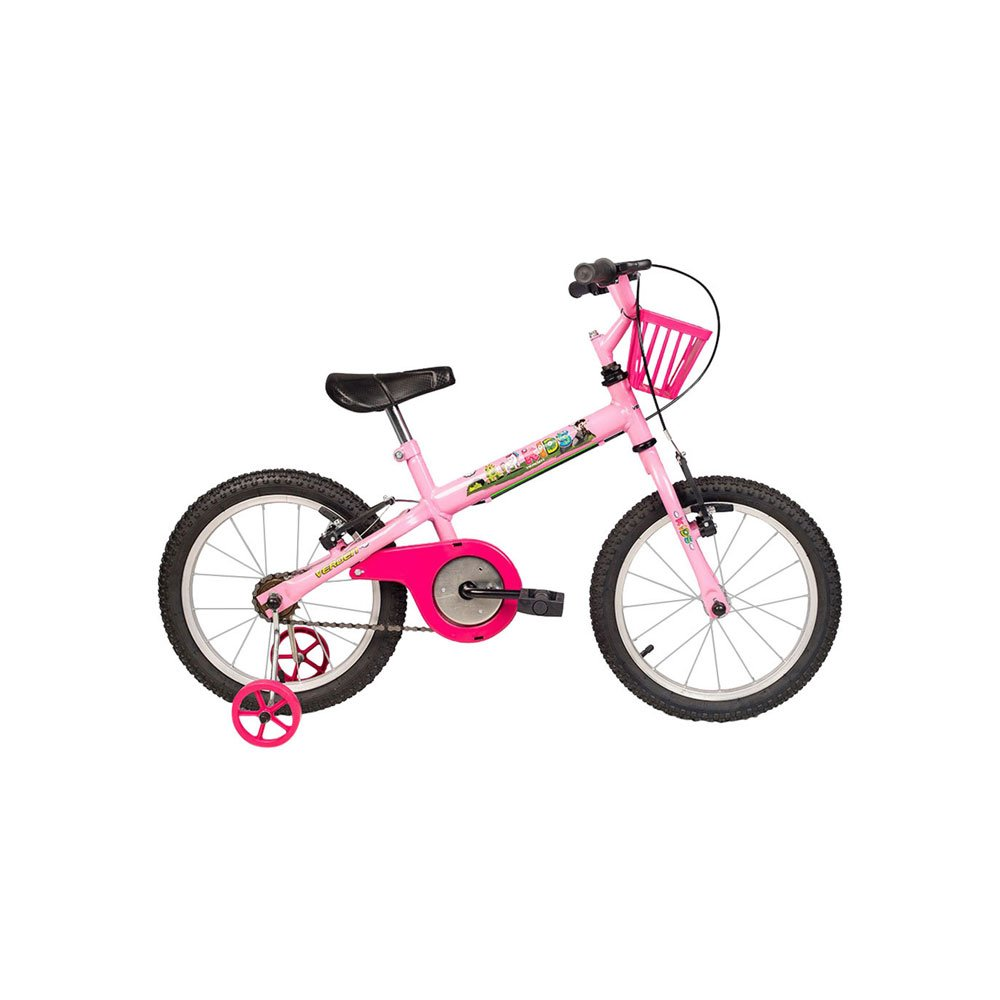 Bicicleta Infantil Aro 16 Kids Rosa unidade Verden  UN