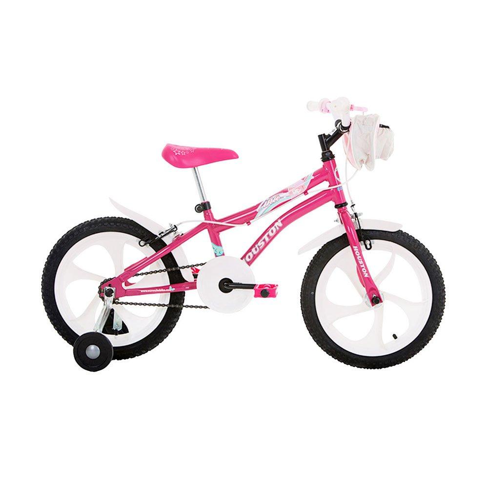 Bicicleta Infantil Aro 16 TN161Q Rosa unidade Houston  UN